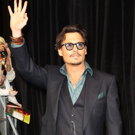 Johnny Depp: I can't help being a pirate