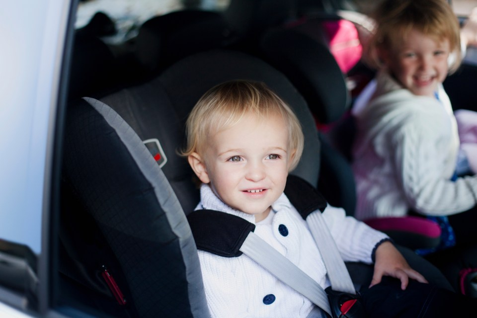 UK car seat laws for babies: When should your child move out of a rear-facing seat?