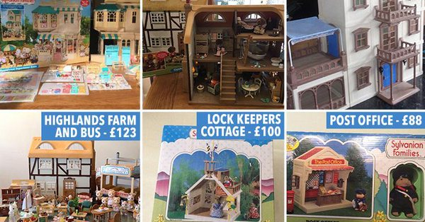 Have you got Sylvanian Families toys in the attic? These are the ones that could be worth a fortune